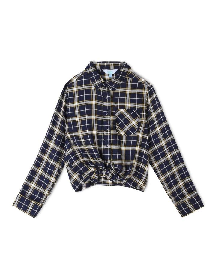 Woven Check Shirt image 1