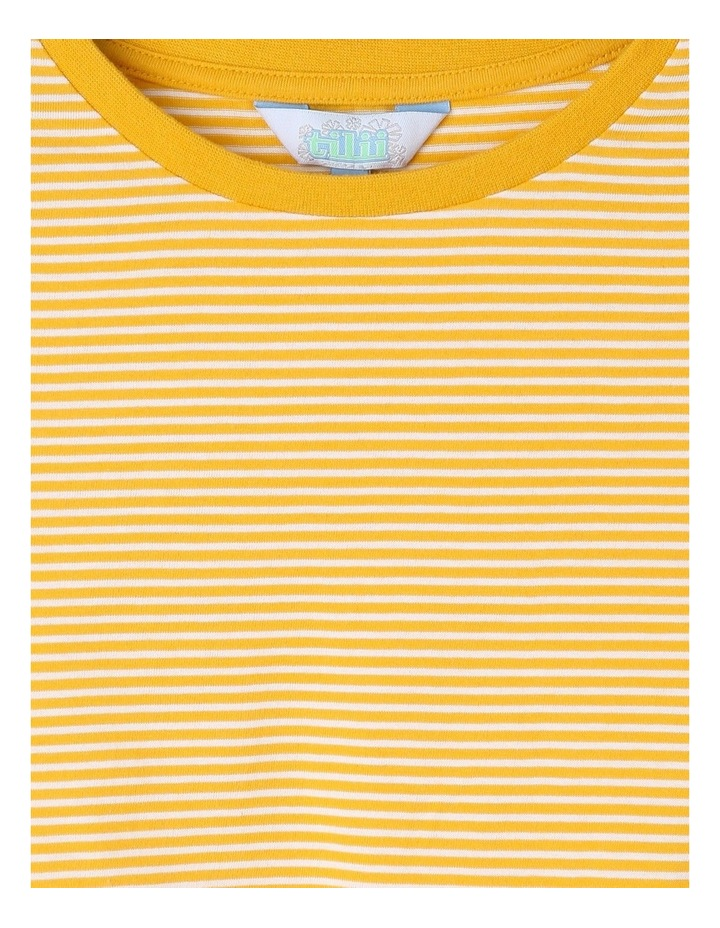 Knit Tie Front Tee image 3