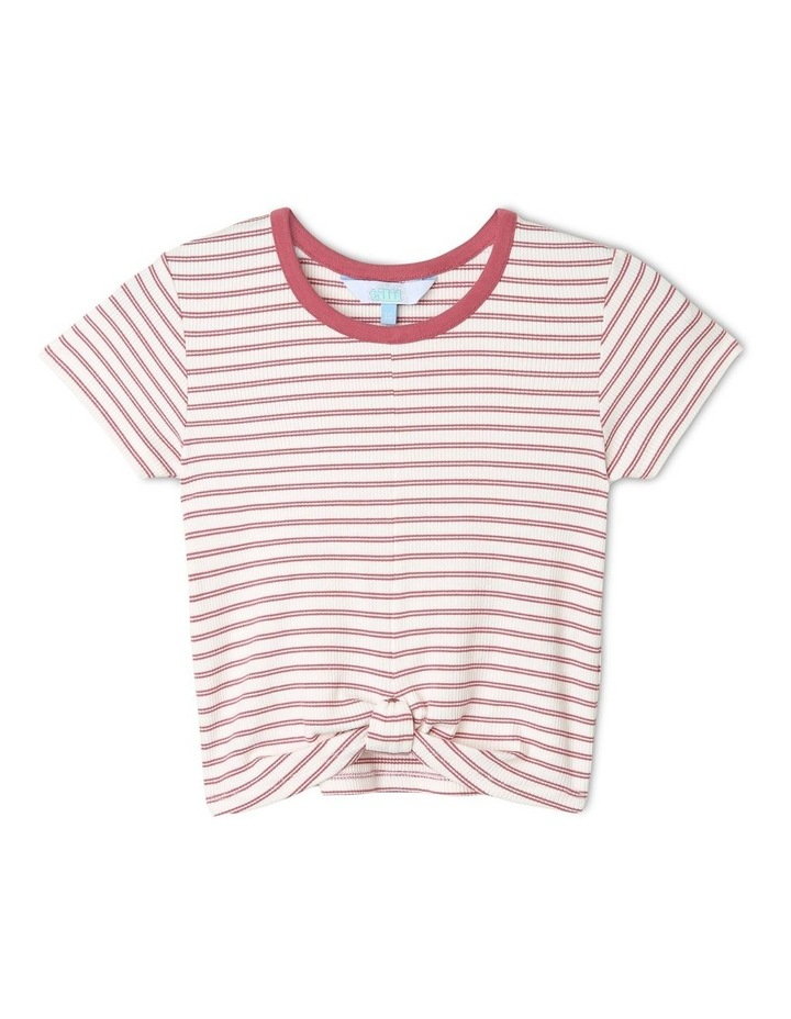 Knot Front Tee image 1