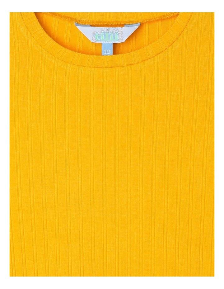 Long-Sleeve Rib T-Shirt with Baby-lock Hem image 3