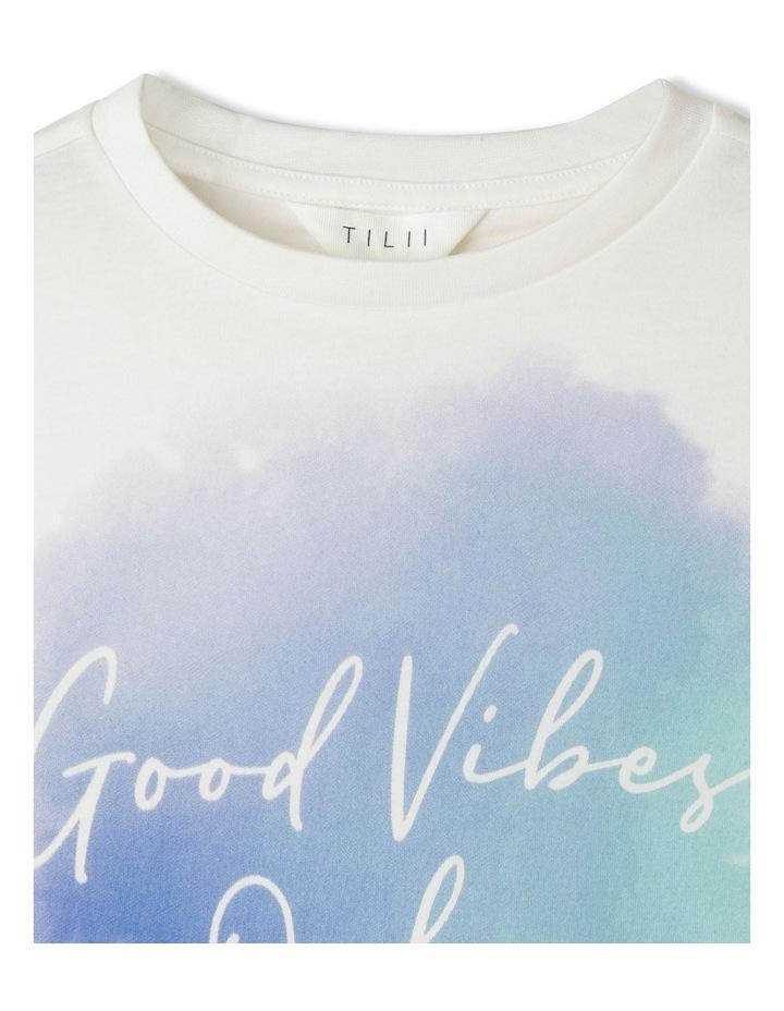 Cropped Printed T/Shirt image 3