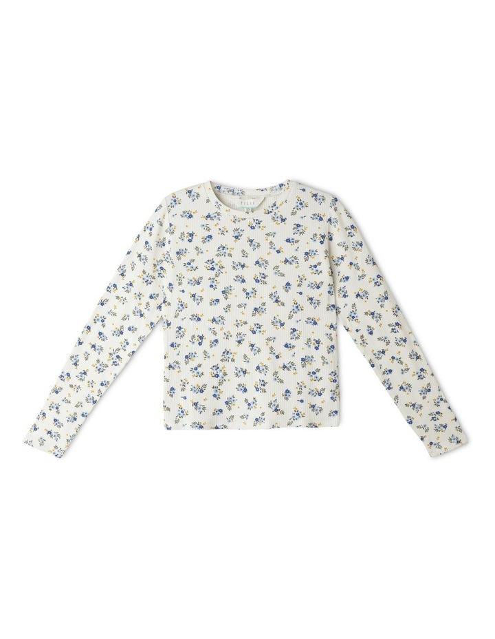 Rib Knit T-Shirt image 1