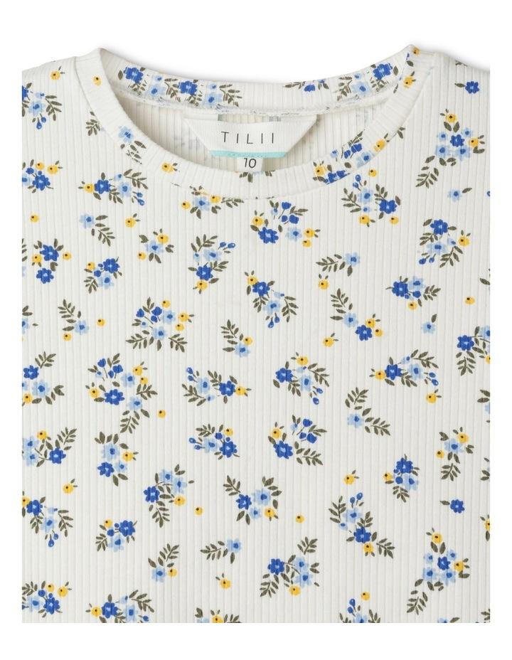Rib Knit T-Shirt image 2