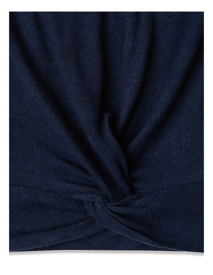 Knit Look Knot Front T-Shirt image 4