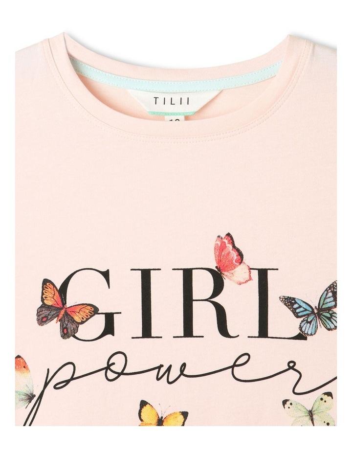 Essentials Print T-Shirt Light Pink image 4