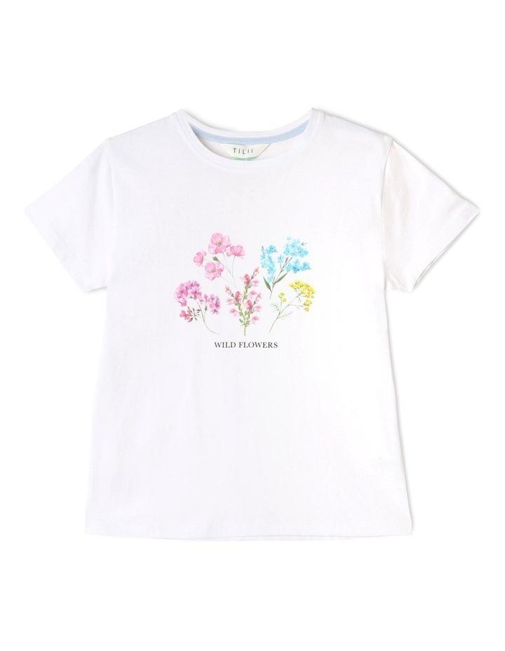 Essentials Print T-Shirt White image 1