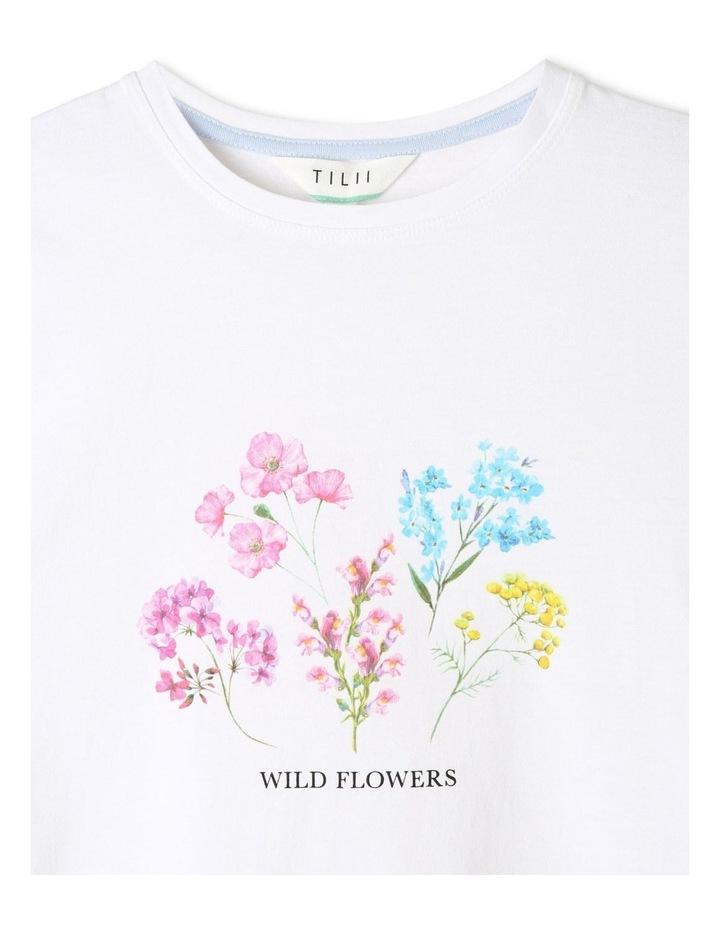 Essentials Print T-Shirt White image 2
