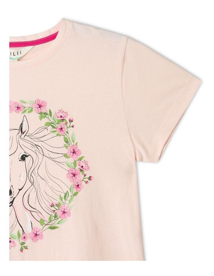 Essentials Print T-Shirt Light Pink image 3