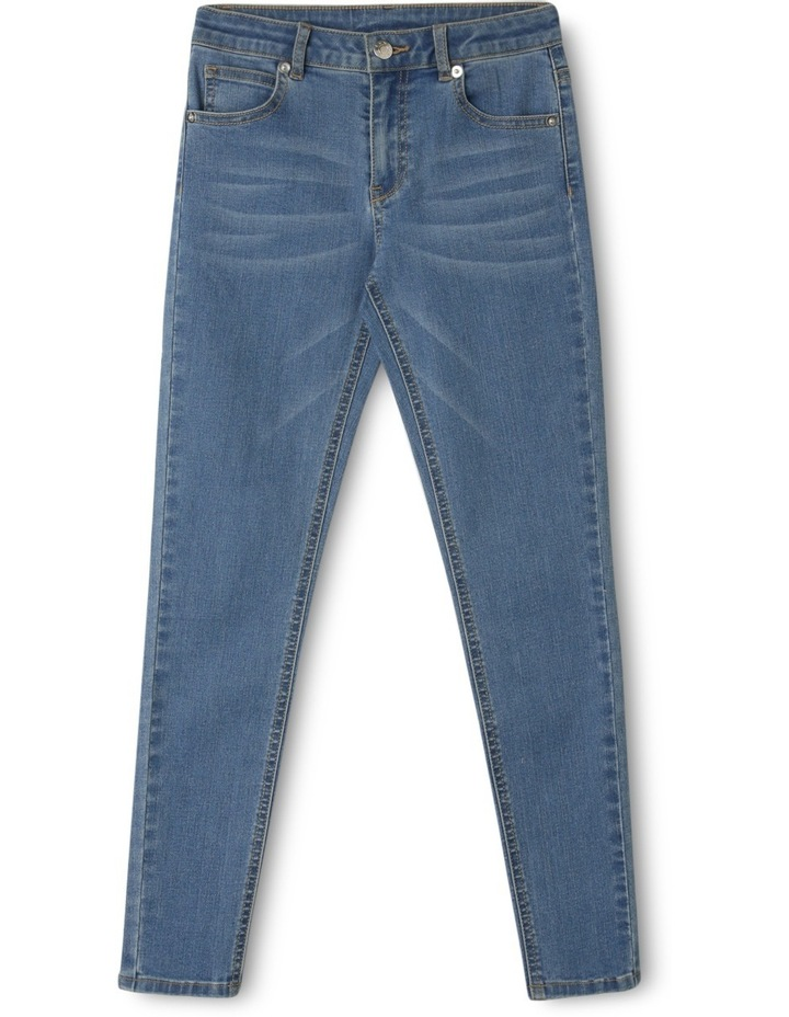 Mid Rise Stretch Skinny Jean image 1