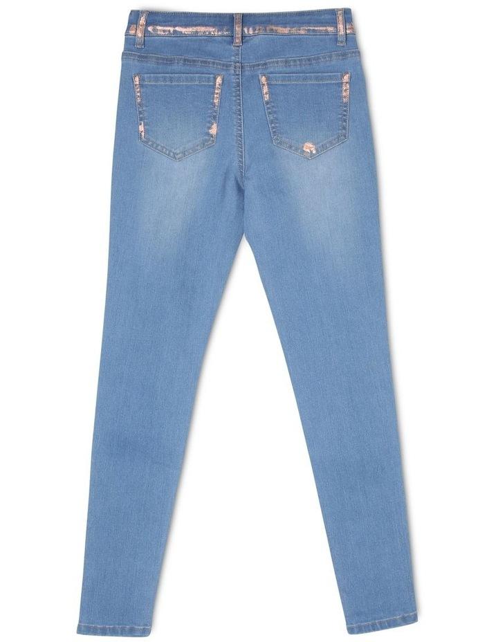 Mid Rise Skinny Jean image 3