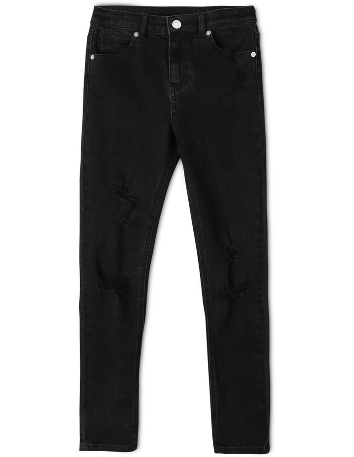 High Waisted Skinny Jean image 1