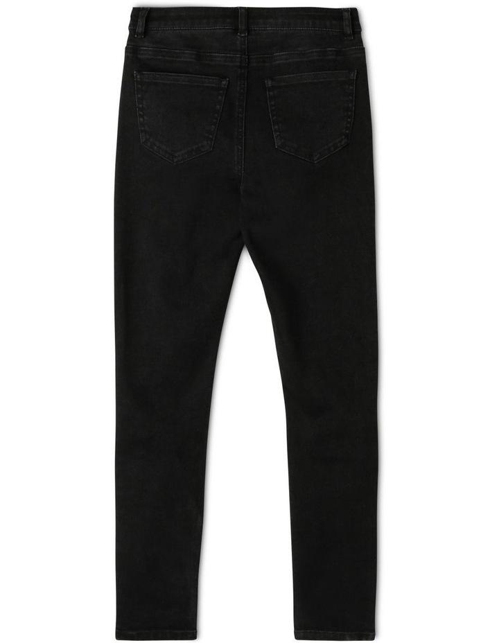 High Waisted Skinny Jean image 2