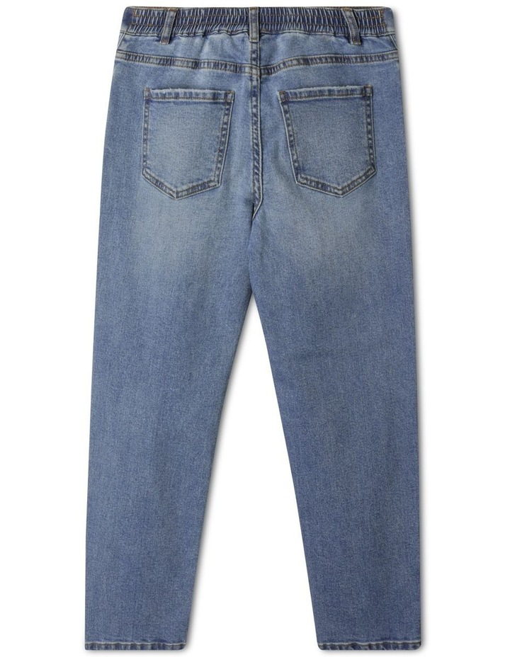 Distressed High Waisted Mom Jean image 4