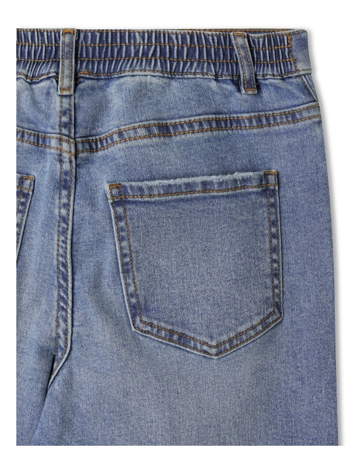 Distressed High Waisted Mom Jean image 5