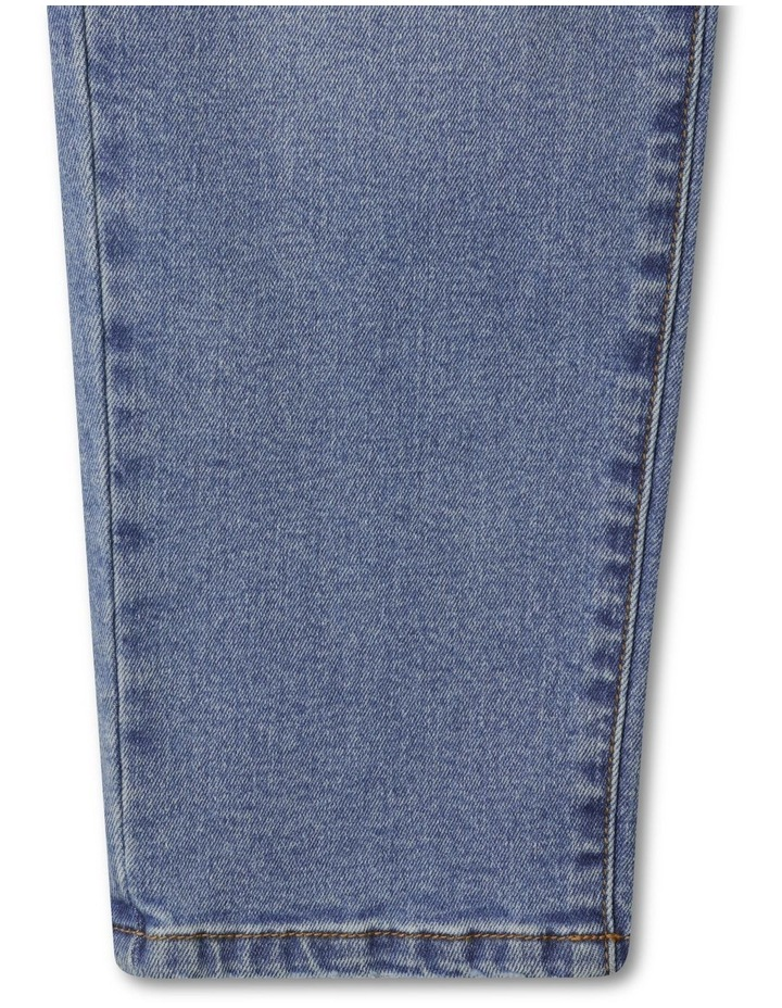 Distressed High Waisted Mom Jean image 6