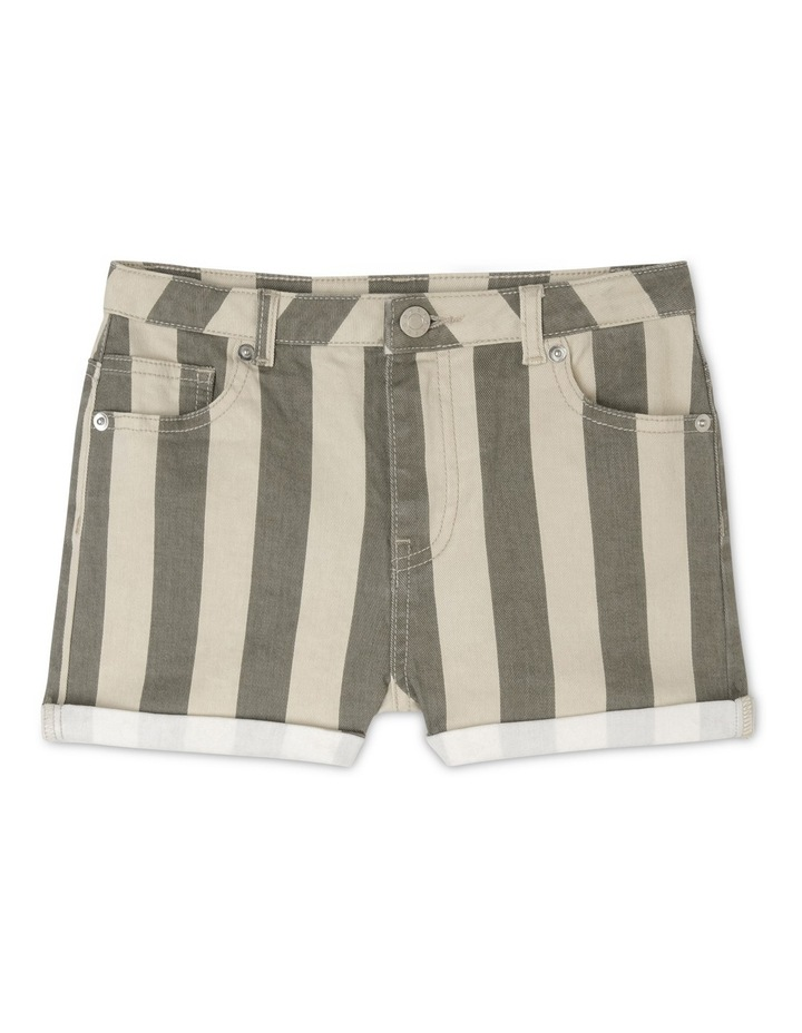 Stripe Short With Cuffs image 1
