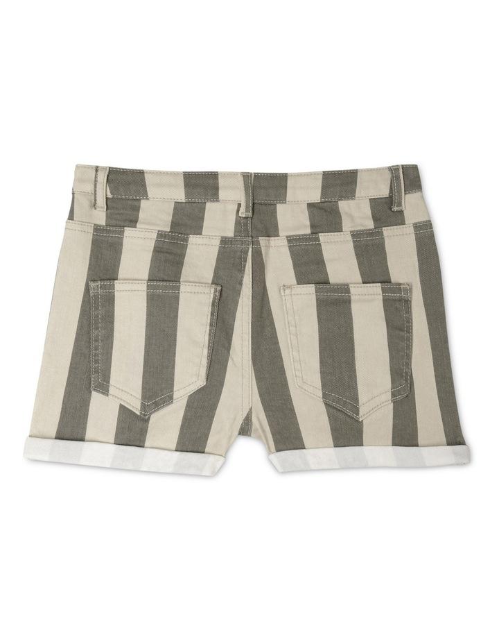 Stripe Short With Cuffs image 2