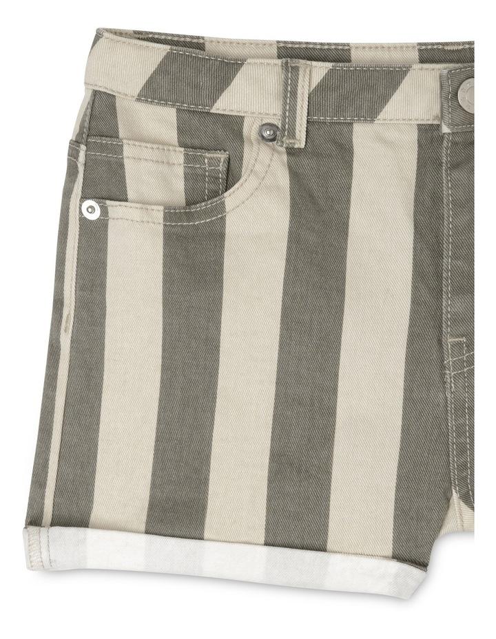 Stripe Short With Cuffs image 3