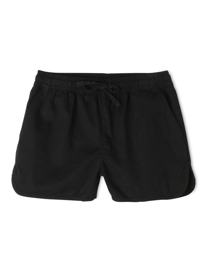 Black Soft Woven Short image 1