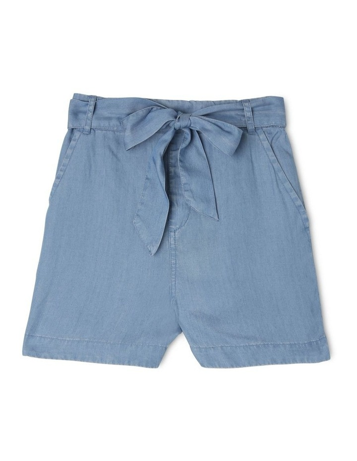 Loyocell Tie Waist Shorts image 1