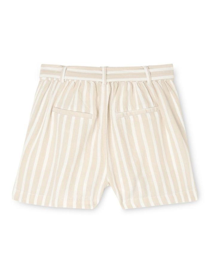 Linen Blend Spot Shorts image 2