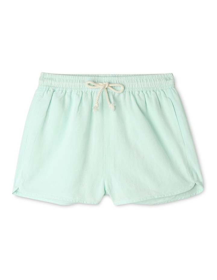 Linen High Waist Short image 1