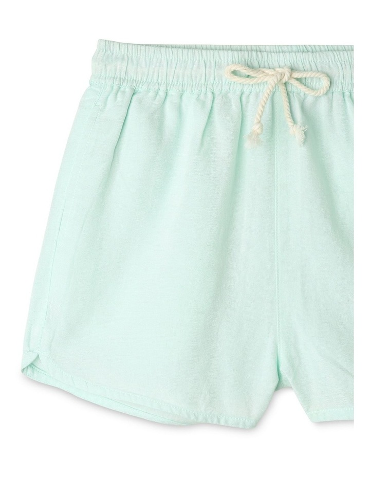 Linen High Waist Short image 2