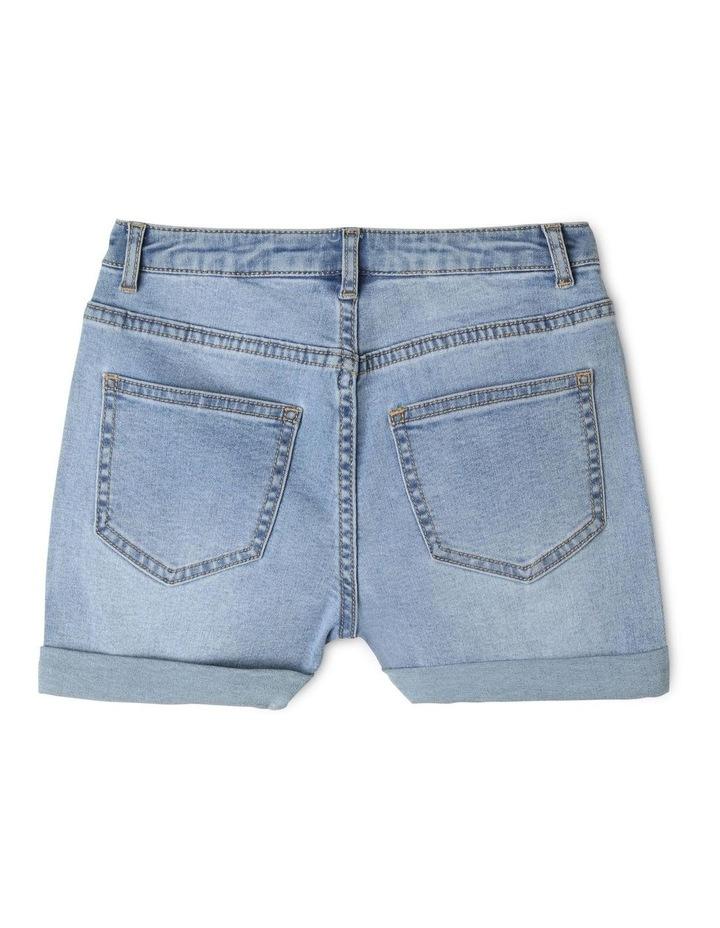 Core High Waist Denim Shorts image 2