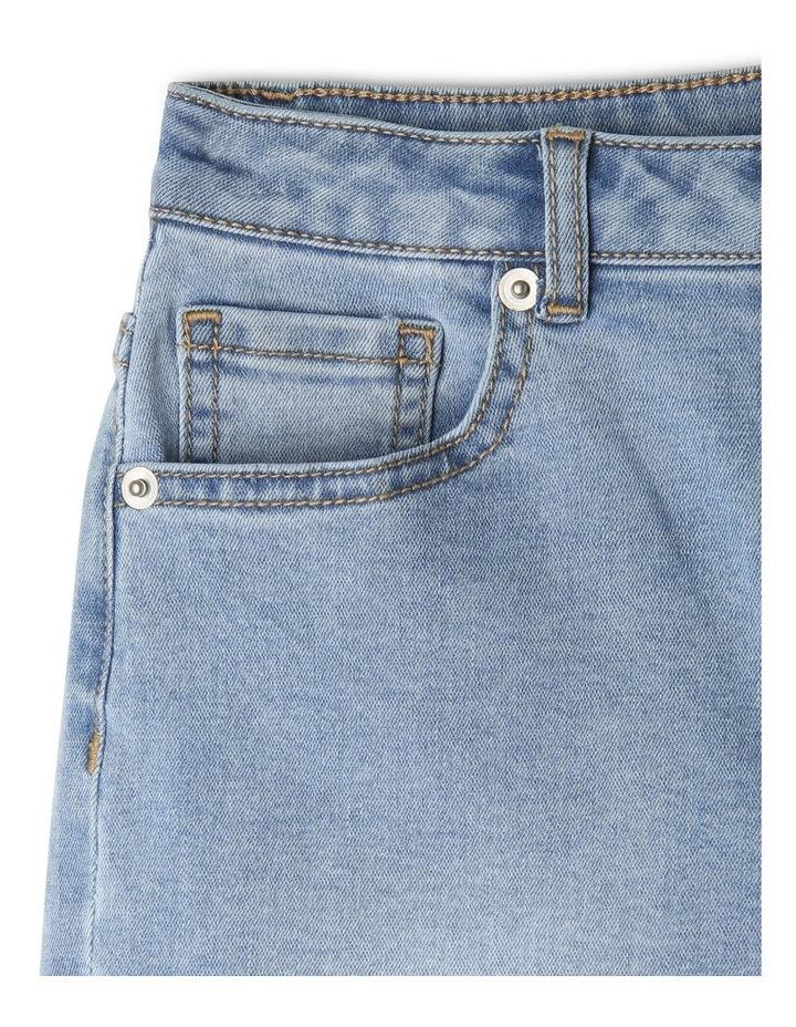 Core High Waist Denim Shorts image 3