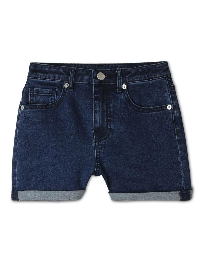 Core High Waist Denim Shorts image 1