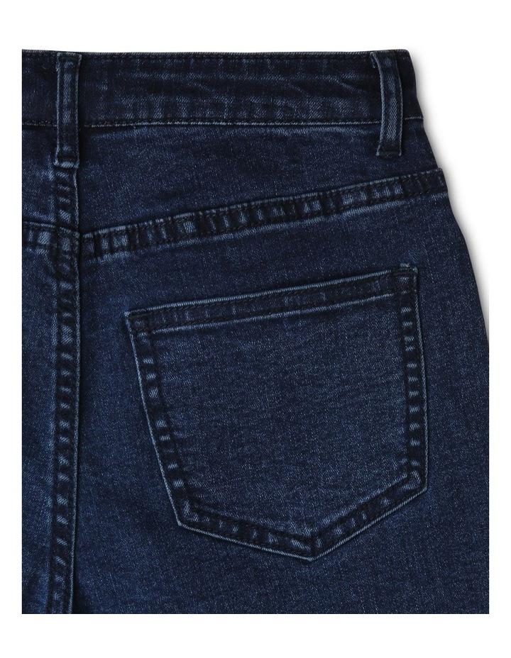 Core High Waist Denim Shorts image 4