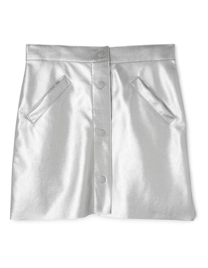 Metallic A-line Skirt image 1