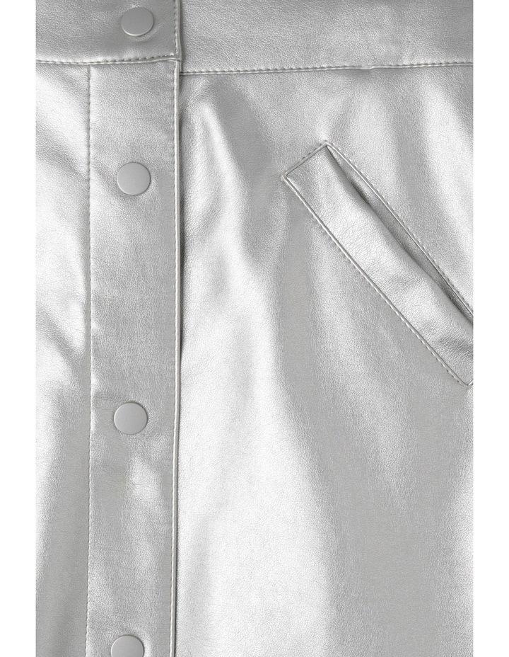 Metallic A-line Skirt image 2