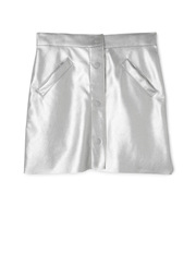 Tilii - Metallic A-line Skirt