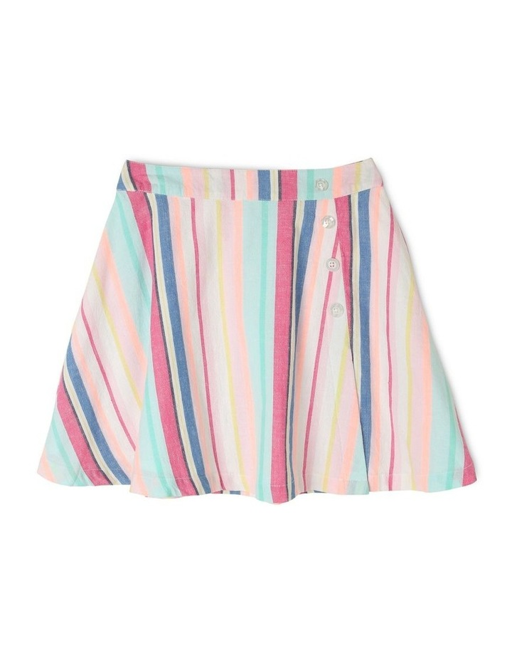 Woven Lined Wrap Skirt image 1
