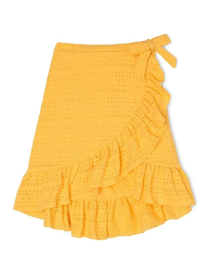 Knit Hi-Lo Skirt image 1