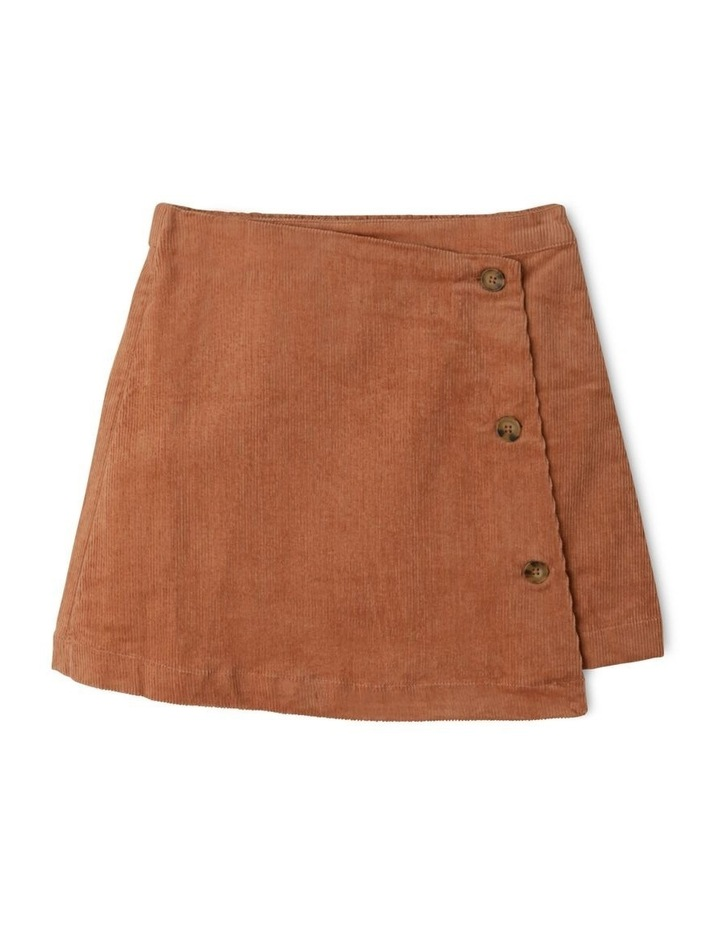 Asymmetrical Cord Skirt image 1