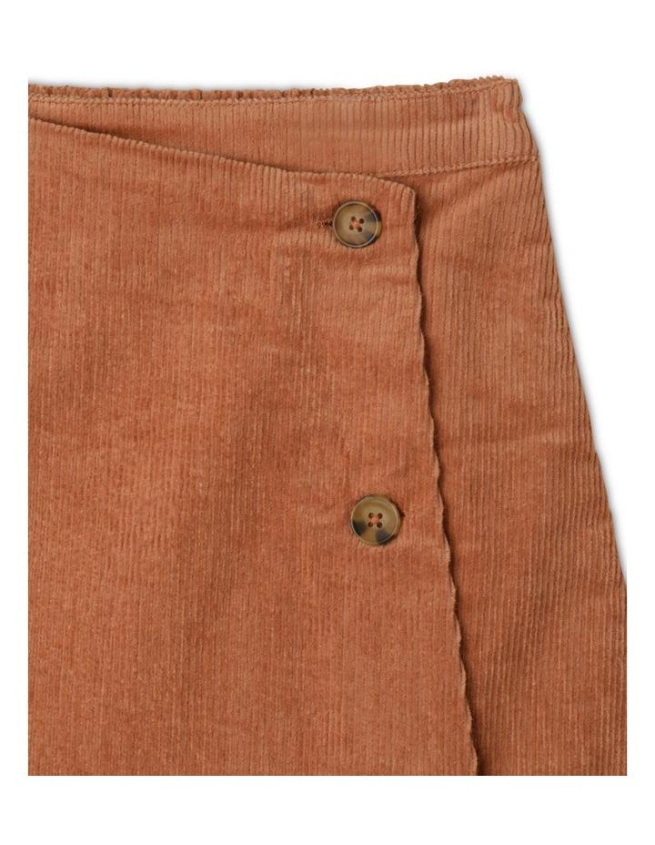 Asymmetrical Cord Skirt image 2