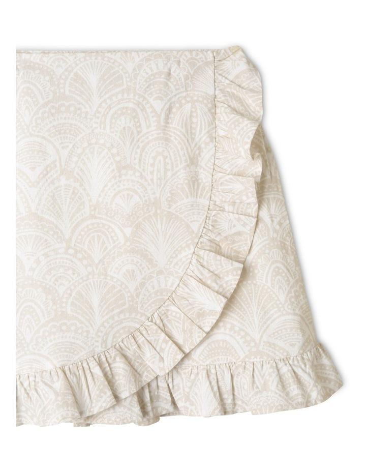 Linen Wrap Skirt image 2