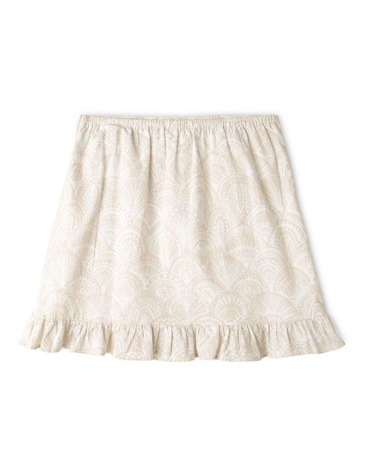 Linen Wrap Skirt image 4