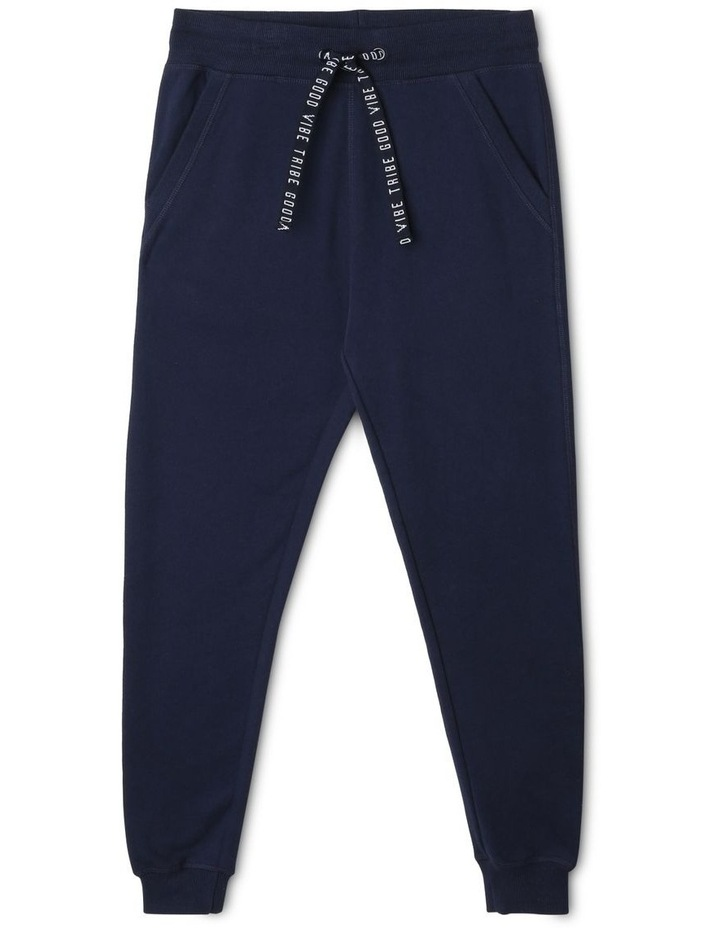 Essential Track-Pants with Jacquard Tie image 1