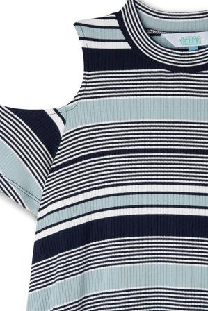 Tilii - Cold Shoulder Swing Dress