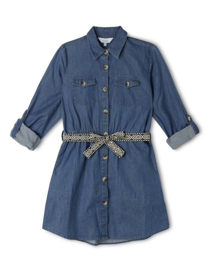 Denim Shirt Dress image 1