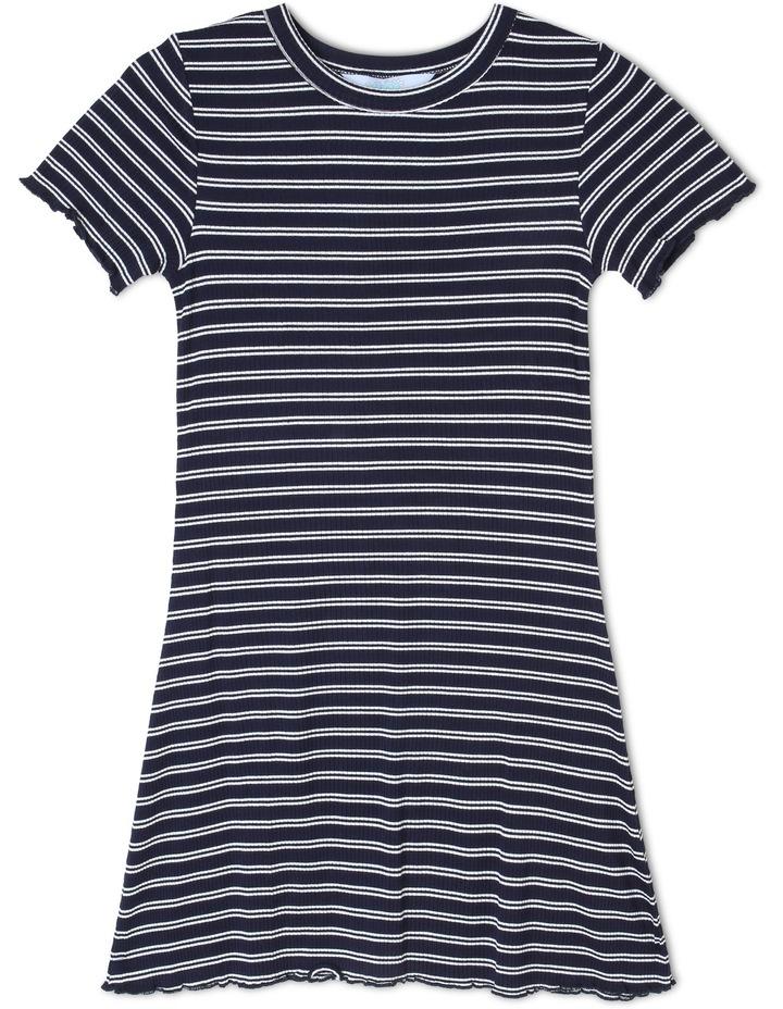 Rib Knit Tee Dress image 1