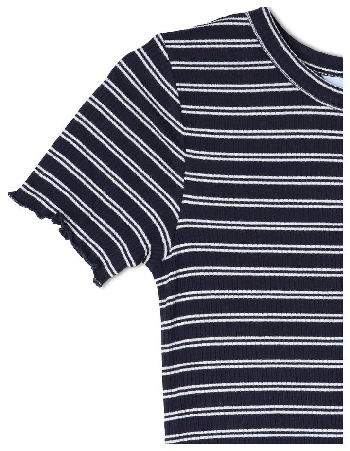 Rib Knit Tee Dress image 2