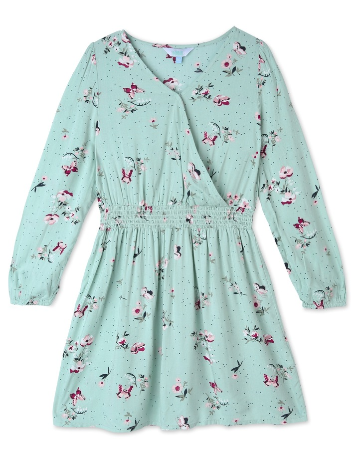 Woven Wrap Dress image 1