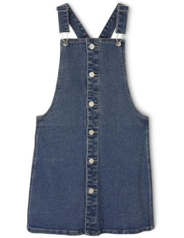 ee664fe74369 Tilii DENIM OVERALL DRESS