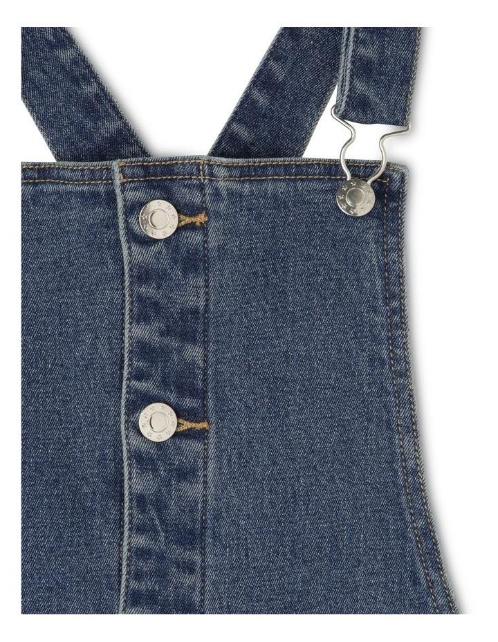 DENIM OVERALL DRESS image 3