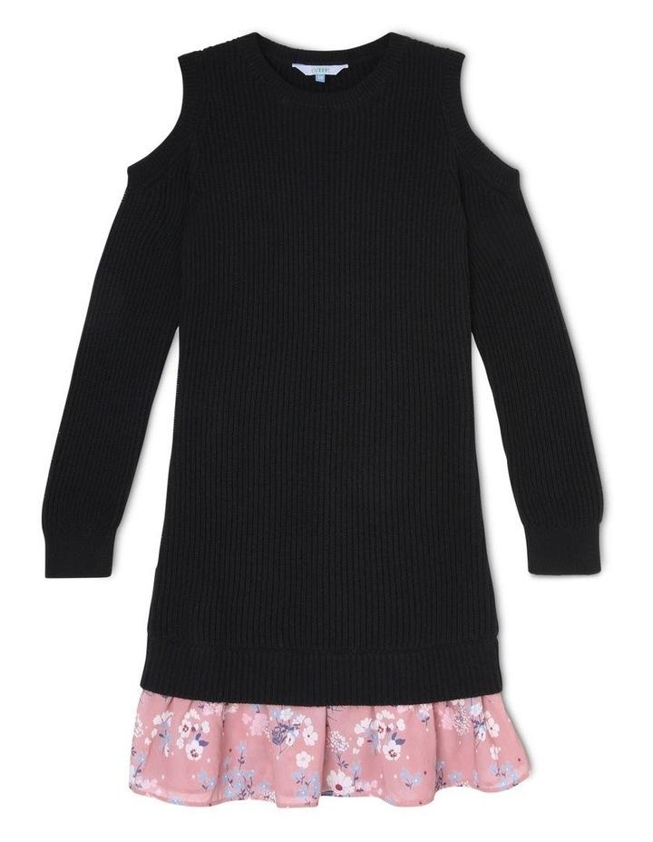 Cold Shoulder Knitted Dress image 1
