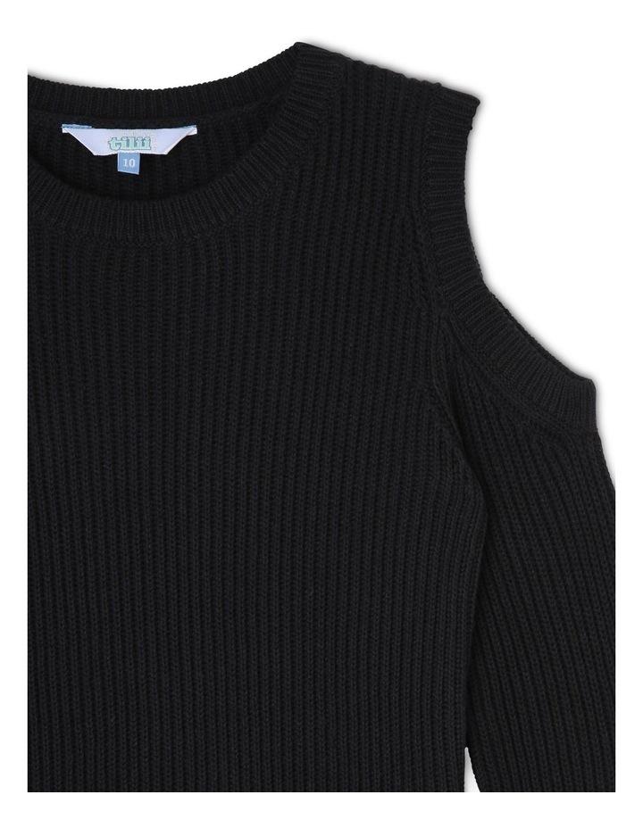 Cold Shoulder Knitted Dress image 2